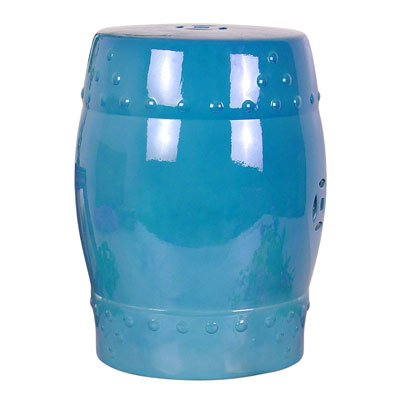 A&B Home Garden Stool, Blue by A&B Home