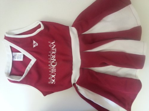 Byu Cougar Halloween Costume (South Carolina Gamecocks youth Small Ages 2 to 4 Cheerleader)