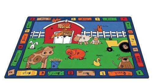 Carpets for Kids Alphabet Farm, 5'10