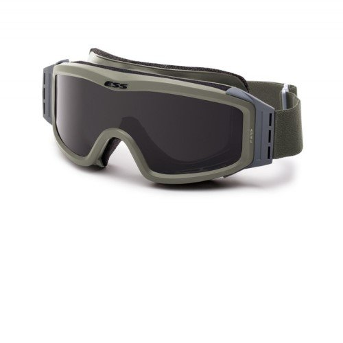 ESS Eyewear Profile Night Vision Compatible Goggles, Foliage Green by ESS Eyewear