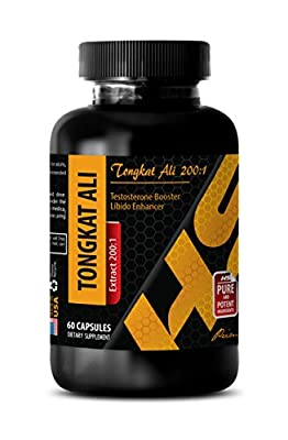 Testosterone booster for men sex natural - TONGKAT ALI ROOT EXTRACT - Tongkat Ali - 1 Bottle 60 Capsules