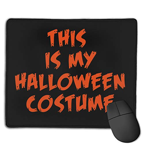 Kim Mittelstaedt Personalized My Halloween Costume Rectangle Waterproof Material Non-Slip Rubber Gaming Mouse Pad -