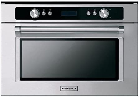 KitchenAid KMMXX 38600 - Horno microondas empotrable con Acabado en Acero Inoxidable de 38 cm
