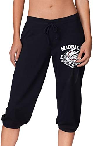 スウェット ハーフパンツ マッドボール Madball Hardcore Rock Band Logo シンプル デザイン ジャージ 七分丈 伸縮 スポーツ ルーム ショート レディース カジュアル S-2XL