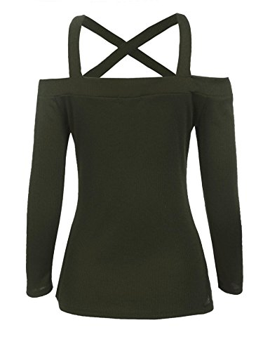Zeela Camisas Camisas Mujer Para Armeegrün Zeela Para 8BqCfw8