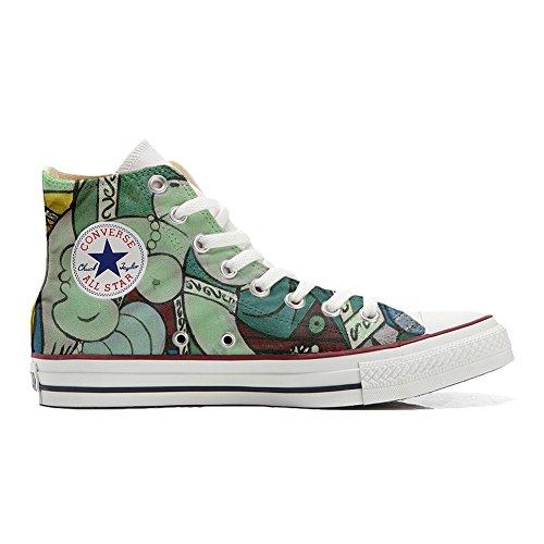Converse All Star zapatos personalizados (Producto Artesano) artístico