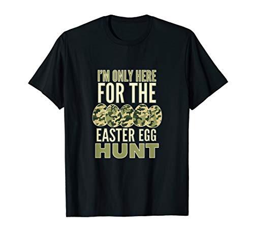 Easter Egg Hunt TShirt Camouflage Eggspert Hunter (Easter Egg Scavenger Hunt Riddles For Adults)