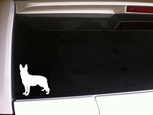 Sticker Shepherd Dog (German Shepherd Silhouette Dog 5.5
