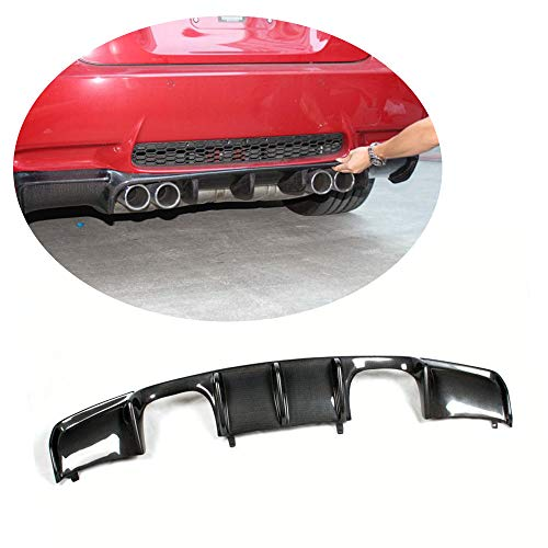 MCARCAR KIT Rear Diffuser fits BMW 3 Series M3 E92 E93 2Door 2008-2013 Customized Carbon Fiber CF Lower Bumper Lip Spoiler Body Kit