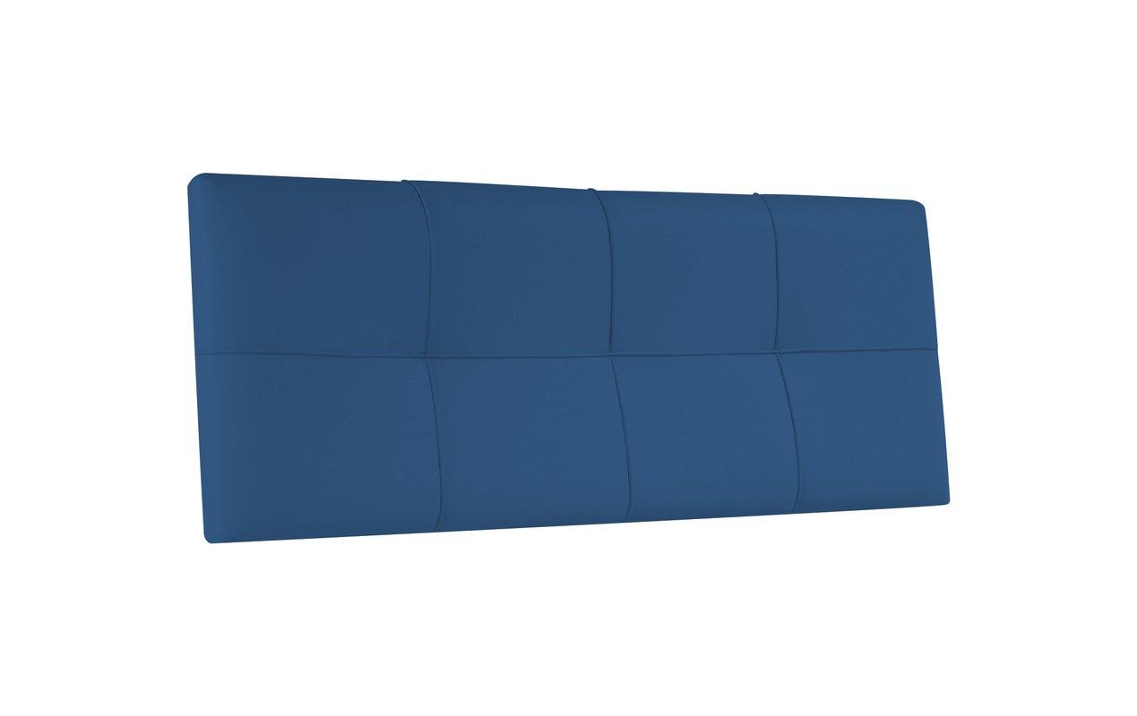 Testata letto con rivestimento in PU da appendere 100 x 57 bianco suenoszzz