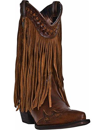 Dingo Women's Heart Throb Western Boot - Rust Triad - 8 B...