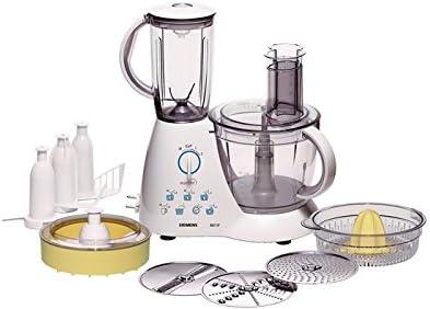 Siemens MK51800 - Robot de cocina (3,9 L, Blanco, Giratorio, 2,4 L, 1,1 m, 3 discos): Amazon.es: Hogar