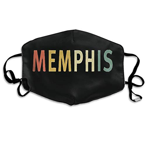 SDQQ6 Memphis Mouth Mask Unisex Printed Fashion Face