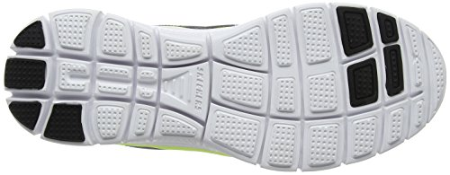Flex Skechers Scarpe sportive Charcoal Uomo Lime Advantage qfq8R