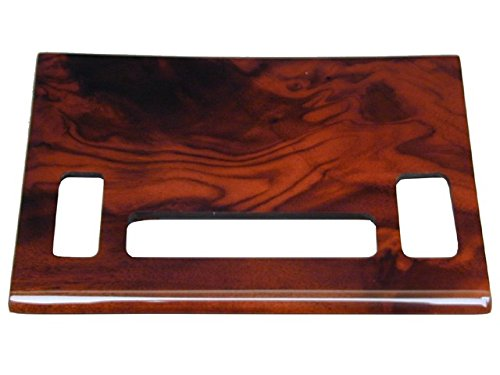 Mercedes 380-SL (82-85) Climate Contorl Panel BURL Wood NEW - Burl Moulding