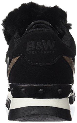 amp;Walk Break Nero Hi221707 Sneaker Donna AqxwqrTdn