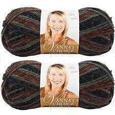 - Bulk Buy: Vanna's Choice Lion Brand Yarn (2-pack) (Woods Print)