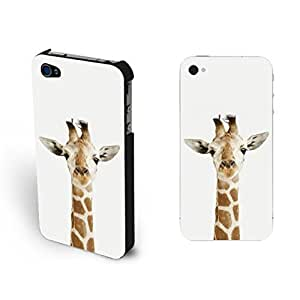 Cute African Giraffe For Ipod Touch 5 Case Cover Animal Picture Pastel White For Ipod Touch 5 Case Cover Animal Print