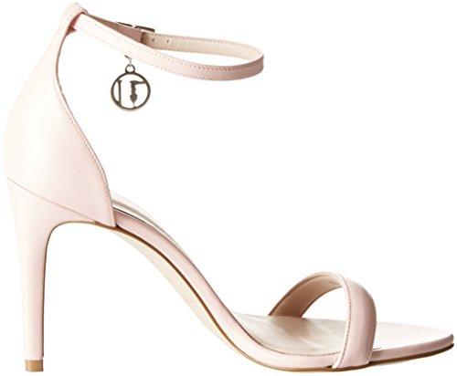 Tacco Evening alla Trussardi Light con Pink Rosa Donna Caviglia Jeans Minimal Cinturino Scarpe col RX58F5qH