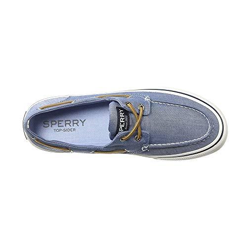 Sperry Bahama II Oxford Shirt Sneaker Navy 16