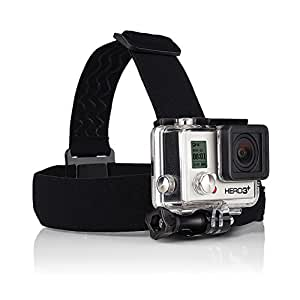 GoPro Head Strap Mount by ProGearX | For all GoPro HERO HD Cameras