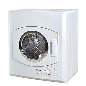 Panda 3.75 cu.ft Compact Laundry Dryer, White