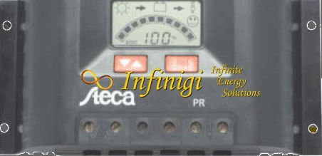 Steca Pr-2020 12 / 24 Volt 20 Amp Solar Charge Controller with Lcd Display