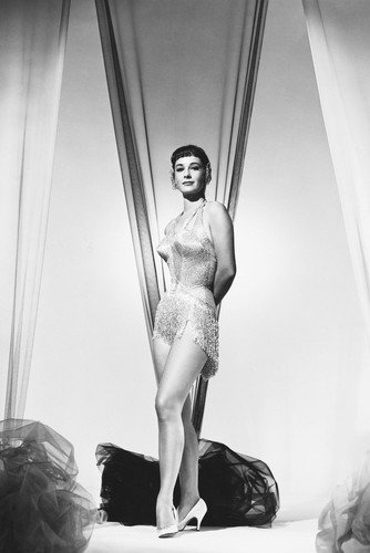 Vera Miles Sexy B&W Poster Cheesecake Pin Up from Silverscreen