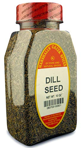 Dip Dill Weed - Marshalls Creek Spices Dill Seed Whole, 10 Ounce