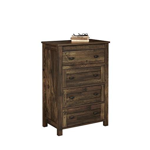 Bedroom Ameriwood Home Farmington 4, 4 Drawer Dresser, Rustic dresser