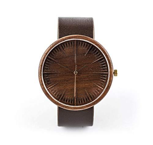 Wooden Watch Cursus, Powered By Swiss Movements and Sapphire Crystal Glass | Unique Gift Idea For Men | Handmade By Ovi Watch from Sustainable and Ethical Materials