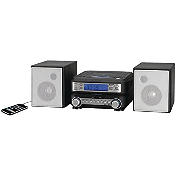 Gpx Hc221b Compact Cd Player Stereo Home Music System With Am Fm Tuner 0