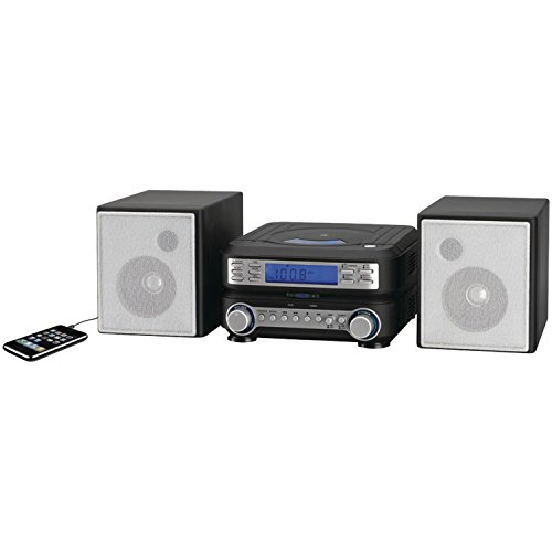 GPX HC221B Compact CD Player Stereo Home Music System with AM/ FM Tuner (Player Am Fm Cd Stereo)