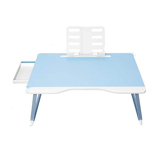 Jian E-& Mesa plegable - Cama Mesa pequeña Computadora portátil ...
