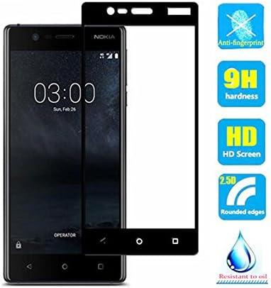 Protector de pantalla de cristal templado para Nokia 3 2017/Nokia3 TA-1032 TA-1020, resistente a los arañazos, dureza 9H, 2 unidades: Amazon.es: Electrónica