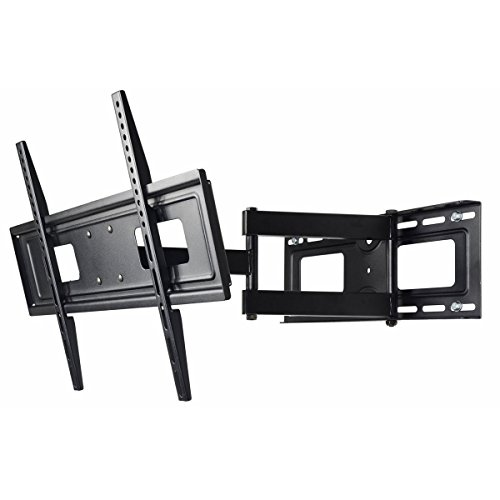 "Electronics : VideoSecu Mounts Articulating TV Wall Mount for most 32"" 37"" 39"" 40"" 42"" 46"" 47"" 50"" 52"" 55"" 58"" 60"" 62"" 63"" 65"" LCD LED Plasma Flat Panel TV with VESA from 200x100 to 400x400, 600x400mm MW365BBM7 BM7"