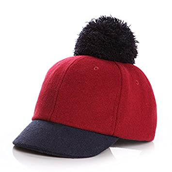 7e54d5ce497 PyLios(TM) New Wool Kids Winter Hats for Girls Boy Cap Adjustable Baby Hat