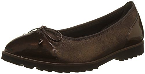 Brown 78 Ballerine da Gabor donna Cognac Shoes Brown Jollys q01w7O