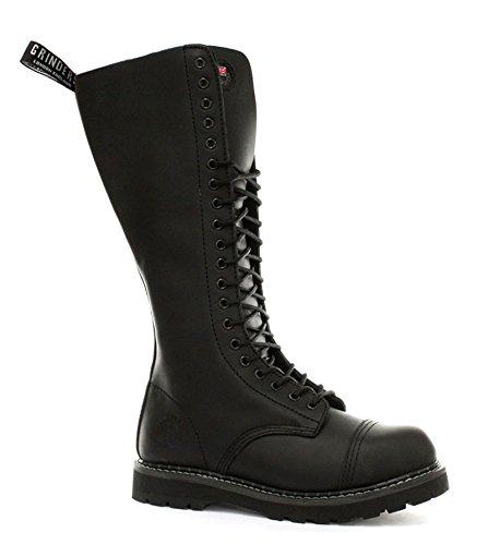 - Grinders King 2015 Black Mens Safety Steel Toe Derby Boots, Size 12