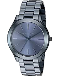 Michael Kors Womens Slim Runway Blue Watch MK3419
