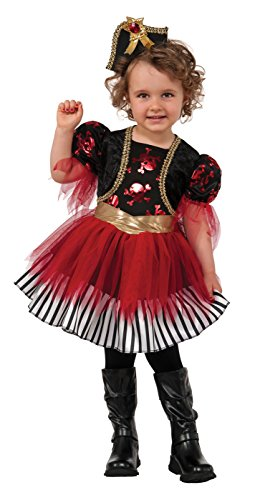 Rubie's Costume Treasure Island Pirate Child Costume, Toddler -