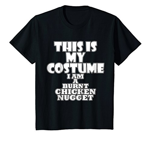 Kids Burnt Chicken Nugget Funny Halloween Costume Idea