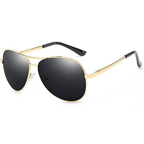 Gafas Yxsd polarizadas Marco Aviator UV para Protección Color de SunglassesMAN Hombre Sol de 400 Oro Oro TU5qwnHw