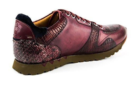 MELVIN & HAMILTON Herren Gavin 1 Sneaker Schnürer Low Rot Gr. 42