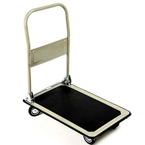 (Giantex Platform Cart Folding Platform Truck Foldable Cart Moving Hand Truck Dolly for Warehouse Cargo Hauler Hand Trucks on Wheels Loading Capacity)