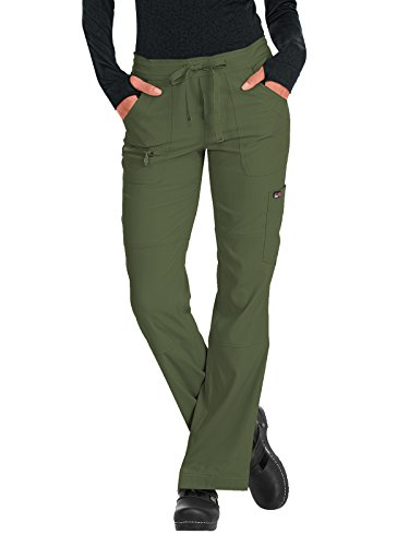 KOI Lite Women's Peace Drawstring Scrub Pant XX-Large Olive Green (Best Green Olive Brands)