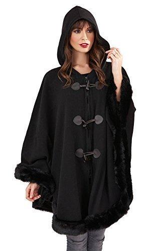 Loungeable Boutique - Abrigo - para mujer negro