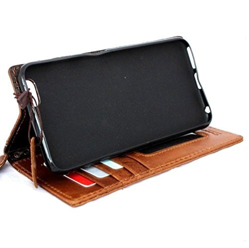 Genuine Italy Real Leather Case for Iphone 6 Plus + Book Wallet Handmade Business Handmade New Free Shipping ! Band