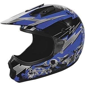 Cyber UX-22 RIP Motocross Helmet - Blue/Large