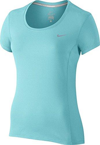 Nike Dri-Fit Contour Ss - Camiseta de manga corta para mujer Copa